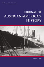 Cover for Journal of Austrian-American History