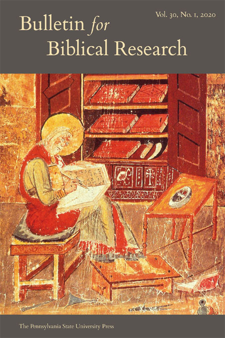 Cover image for Bulletin for Biblical Research
