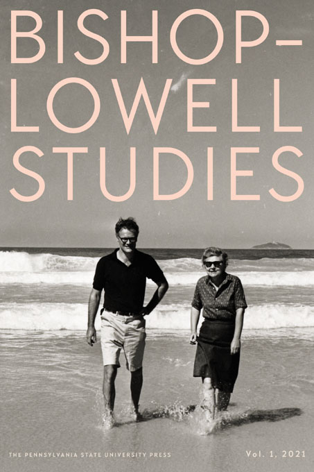 Cover image for Bishop–Lowell Studies