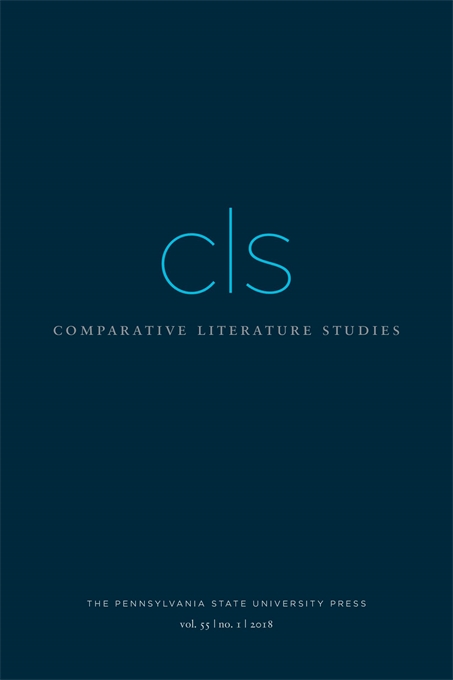Cover image for Comparative Literature Studies