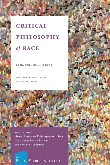 Cover image for Critical Philosophy of Race