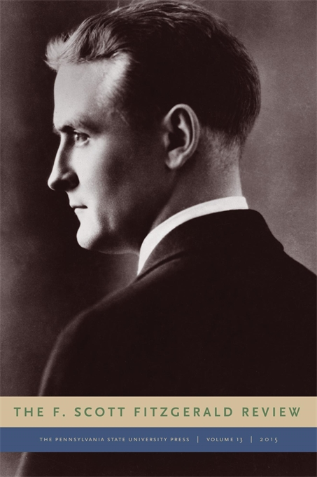 Cover image for The F. Scott Fitzgerald Review