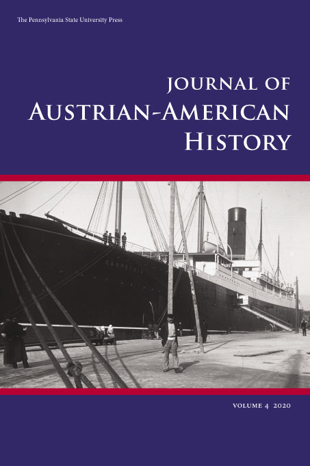 Cover image for Journal of Austrian-American History