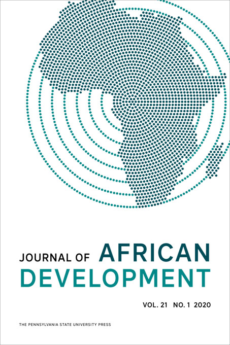 Cover image for Journal of African Development
