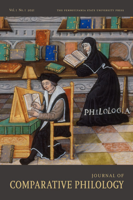 Cover image for Journal of Comparative Philology