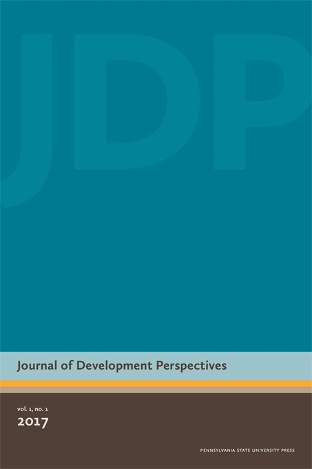 Cover image for Journal of Development Perspectives