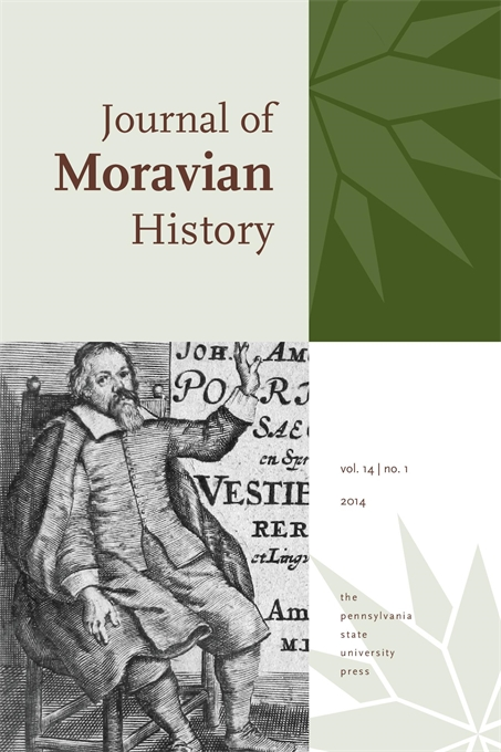 Cover image for Journal of Moravian History
