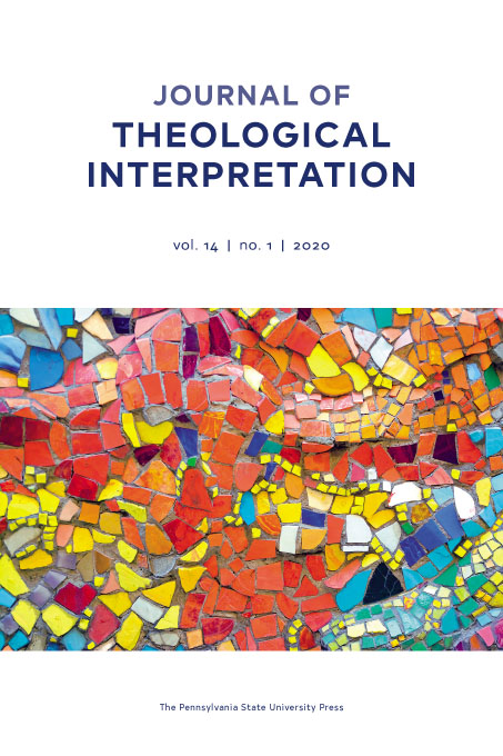 Cover image for Journal of Theological Interpretation