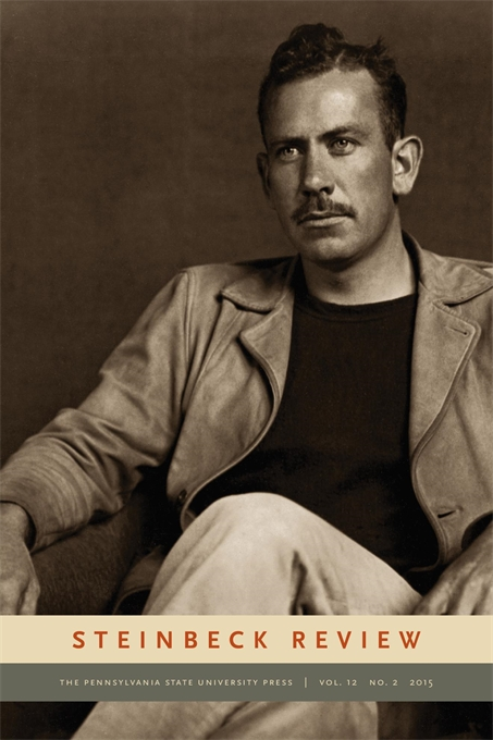 Cover image for Steinbeck Review