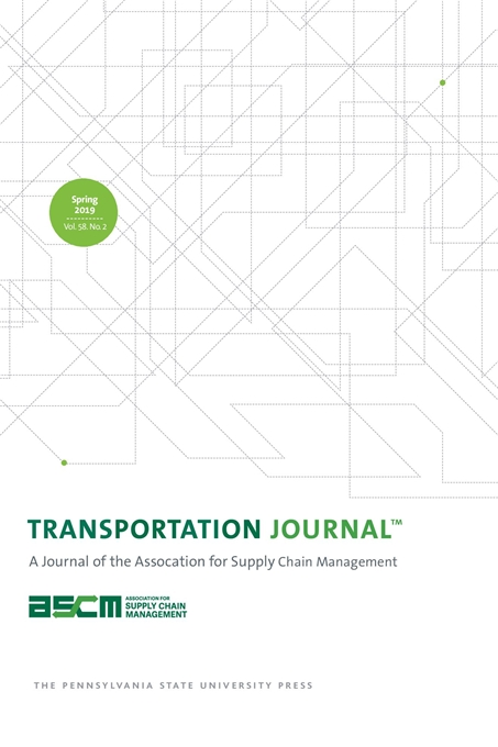 Transportation journal cover image for transportation journal ccuart
