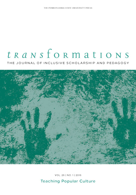 Cover image for Transformations: The Journal of Inclusive Scholarship and Pedagogy