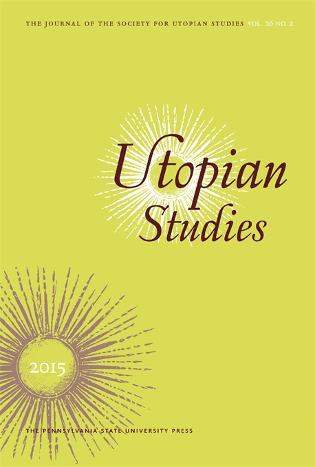 Cover image for Utopian Studies