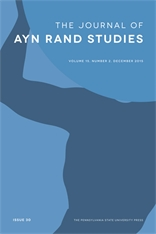 The Journal of Ayn Rand Studies