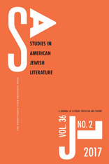 Studies in American Jewish Literature