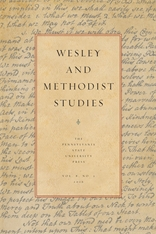 Wesley and Methodist Studies