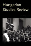 Cover image for Hungarian Studies Review