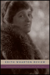 The Edith Wharton Review Cover