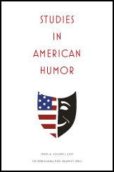 Cover for the journal Studies in American Humor