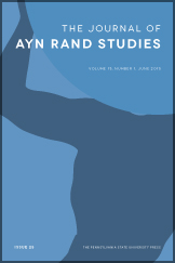 The Journal of Ayn Rand Studies Cover