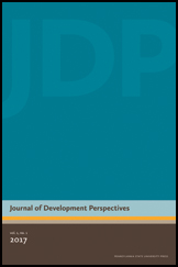 Journal of Development Perspectives Cover