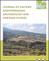 Journal of Eastern Mediterranean Archaeology and Heritage Studies Journal Cover