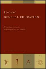 Journal of General Education Cover