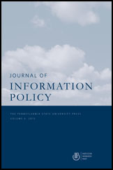 The Journal of Information Policy Cover