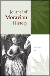 Journal of Moravian History Cover