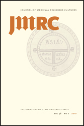 Journal of Medieval Religious Cultures Covers