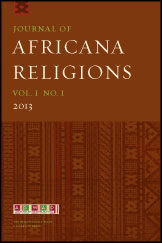 Journal of Africana Religions Journal Cover