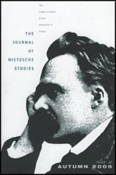 Journal of Nietzsche Studies Cover