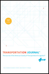 Transportation Journal Cover