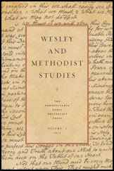 Wesley and Methodist Studies Cover
