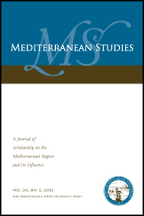 Mediterranean Studies Cover