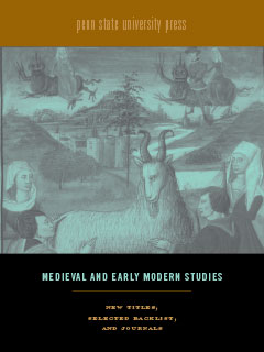 Cover for PSU Press Medieval and Early Modern Studies