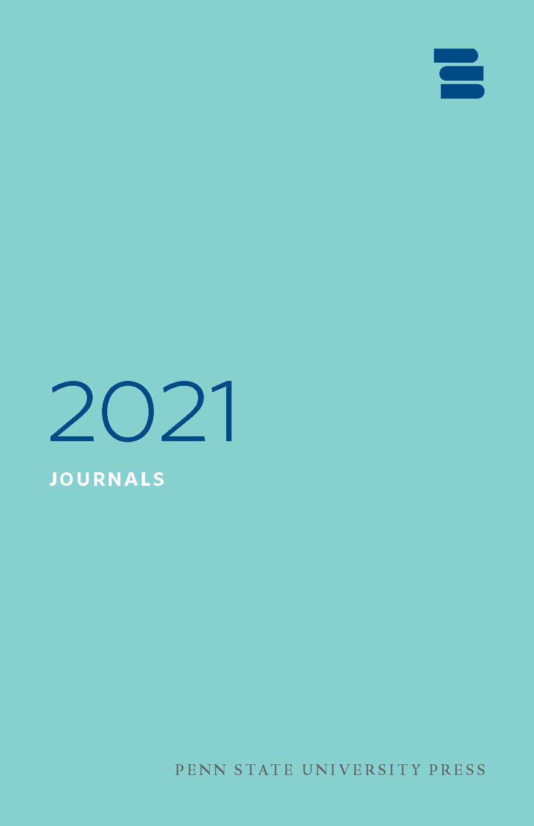 Cover for PSU Press Journals 2021