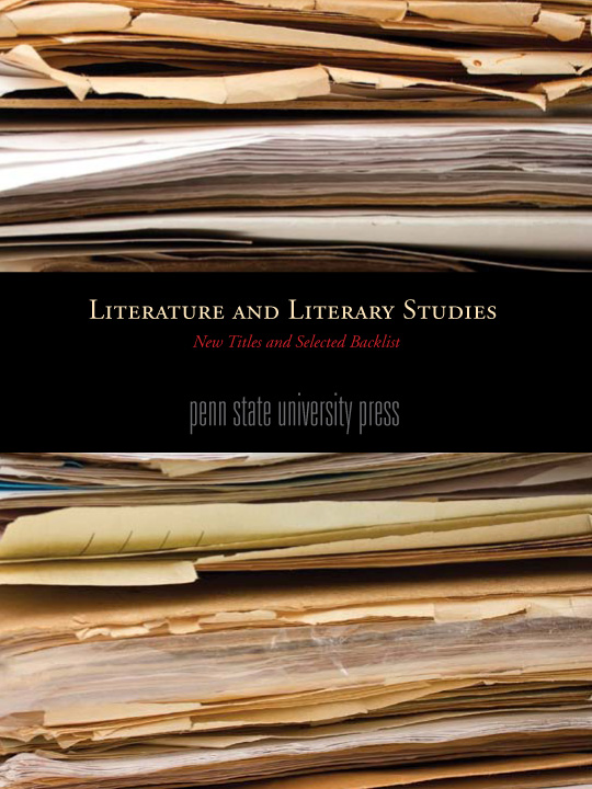 Literature and Literary Studies Cover