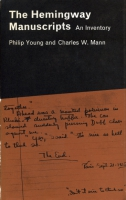 Cover image for The Hemingway Manuscripts: An Inventory By Philip Young and Charles W.  Mann
