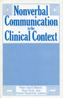 Cover for the book Nonverbal Communication in the Clinical Context