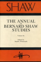Cover image for SHAW: The Annual of Bernard Shaw Studies, Vol. 6 Edited by Stanley Weintraub