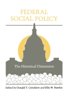 Cover for the book Federal Social Policy