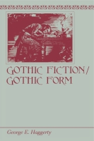 Cover for Gothic Fiction/Gothic Form