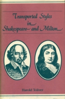 Cover image for Transported Styles in Shakespeare and Milton By Harold Toliver
