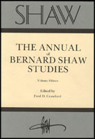 Cover image for SHAW: The Annual of Bernard Shaw Studies, Vol. 15 Edited by Fred Crawford