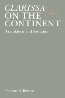 Cover image for Clarissa on the Continent: Translation and Seduction By Thomas O. Beebee