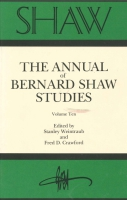 Cover image for SHAW: The Annual of Bernard Shaw Studies, Vol. 10 Edited by Stanley Weintraub and Fred Crawford