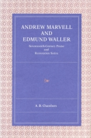 Cover for the book Andrew Marvell and Edmund Waller