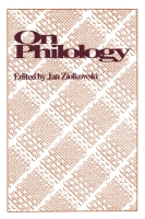 Cover image for On Philology Edited by Jan Ziolkowski