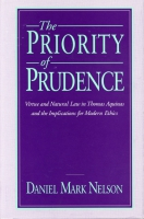 Cover for the book The Priority of Prudence