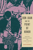 Cover image for Don Juan and the Point of Honor: Seduction, Patriarchal Society, and Literary Tradition By James Mandrell